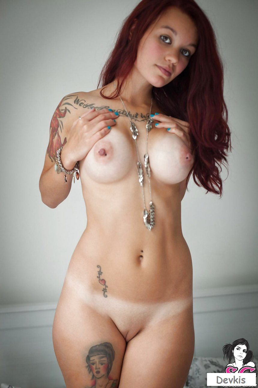 Hot Nude Tits With Nipple Piercing