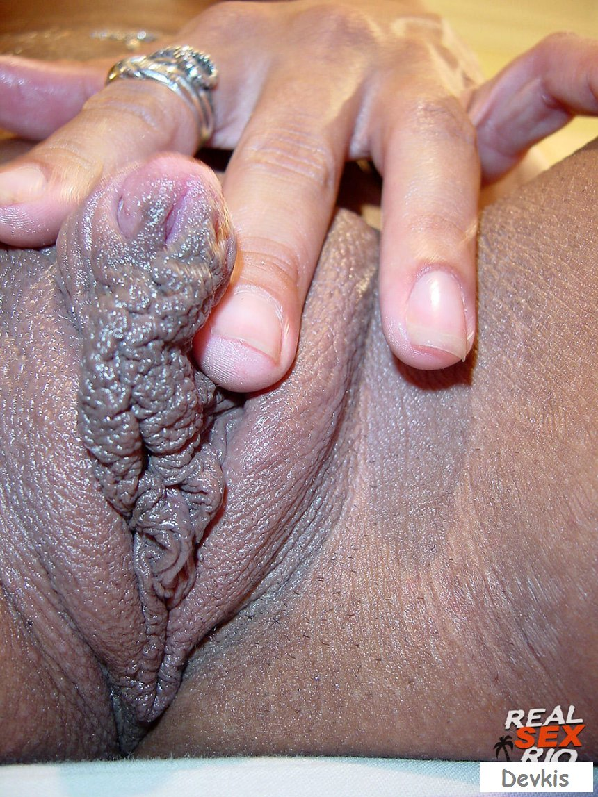 Black Huge Clit
